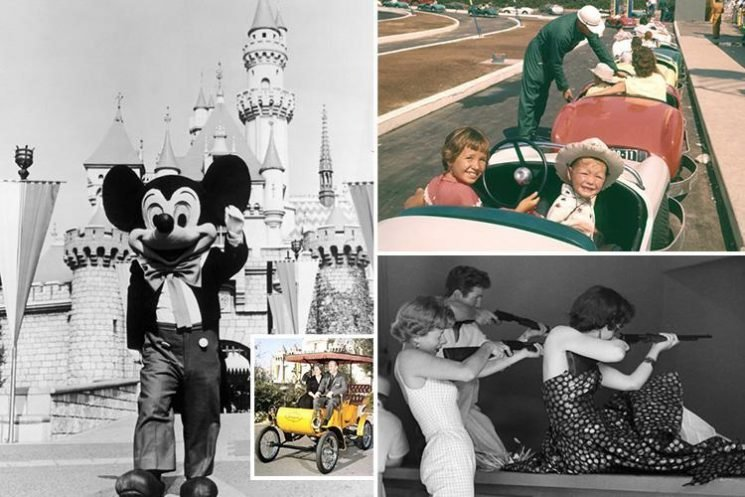 The history of Disneyland in pictures – from 1955 to today