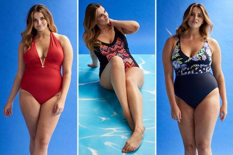Size 16 model gives her verdict on waist-whittling and bust-boosting swimwear