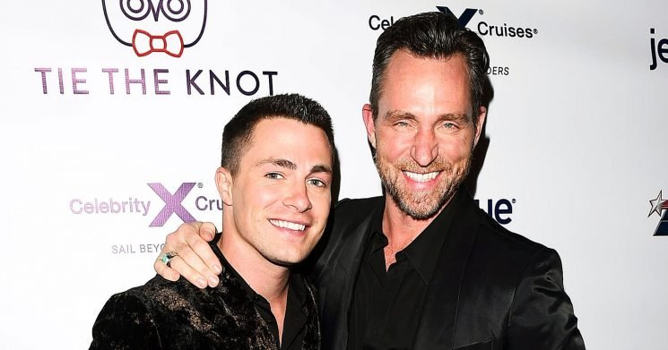 Back On? Colton Haynes, Jeff Leatham Refollow Each Other on Instagram