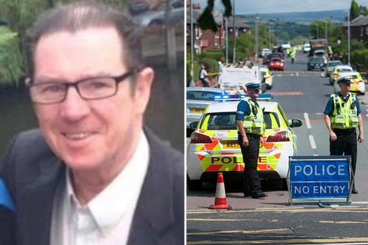 First pic of cabbie killed during high-speed police chase as he helped elderly couple into his taxi