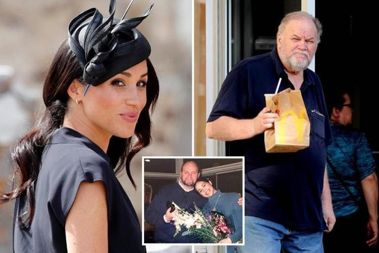 Meghan Markle 'plans meeting with her dad to heal bitter family rift on secret solo trip to the US next month'