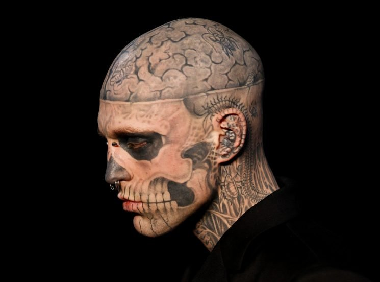 Rick Genest, the Model and Artist Known as Zombie Boy, Has Died at Age 32