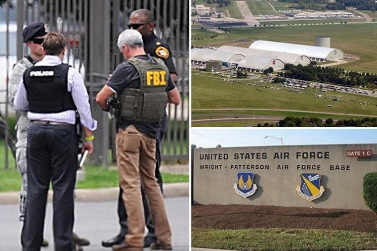 Wright-Patterson shooting – 'active shooter' exercise on US military base sparks full scale alert and evacuation amid fears gunman is on the loose