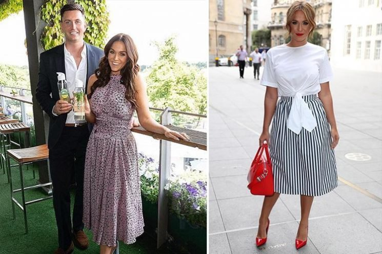 Vicky Pattison admits she 'rushed into' marriage plans with John Noble – but confirms they WILL wed next summer as she's desperate to have kids