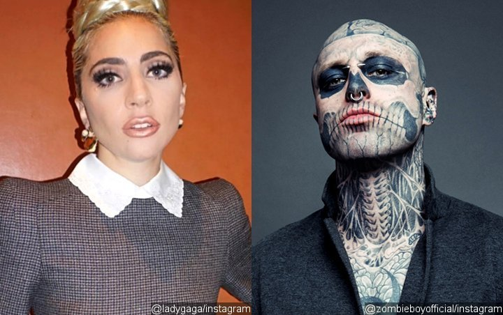 Lady GaGa Mourns Death of 'Born This Way' Music Video Star Rick Genest Who Committed Suicide