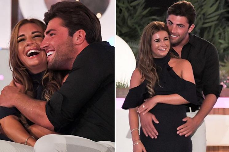 Jack and Dani stormed to victory with almost 80% of the Love Island final votes… and here's what the others got