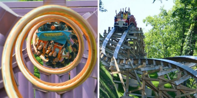 25 Roller Coasters With The Longest Lines (And The Ride Is Super Short)