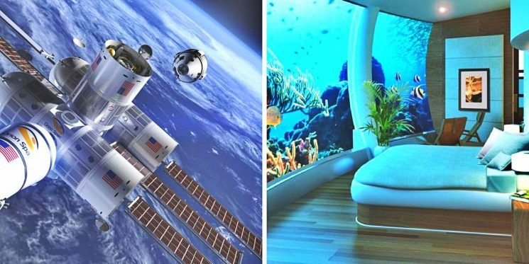 20 Breathtaking Hotels That Look Like They Belong In The Future