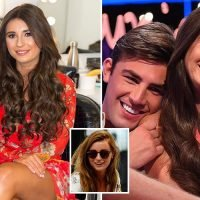 Dani Dyer shows off hair transformation after full set of new brunette extensions on Love Island reunion show