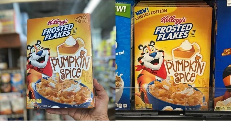 Pumpkin Spice Frosted Flakes Are Real, So Catch Me Sprinting to the Nearest Grocery Store