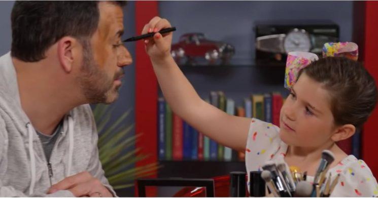 Jimmy Kimmel's Goddaughter Just Gave Him This Popular Halloween Makeover