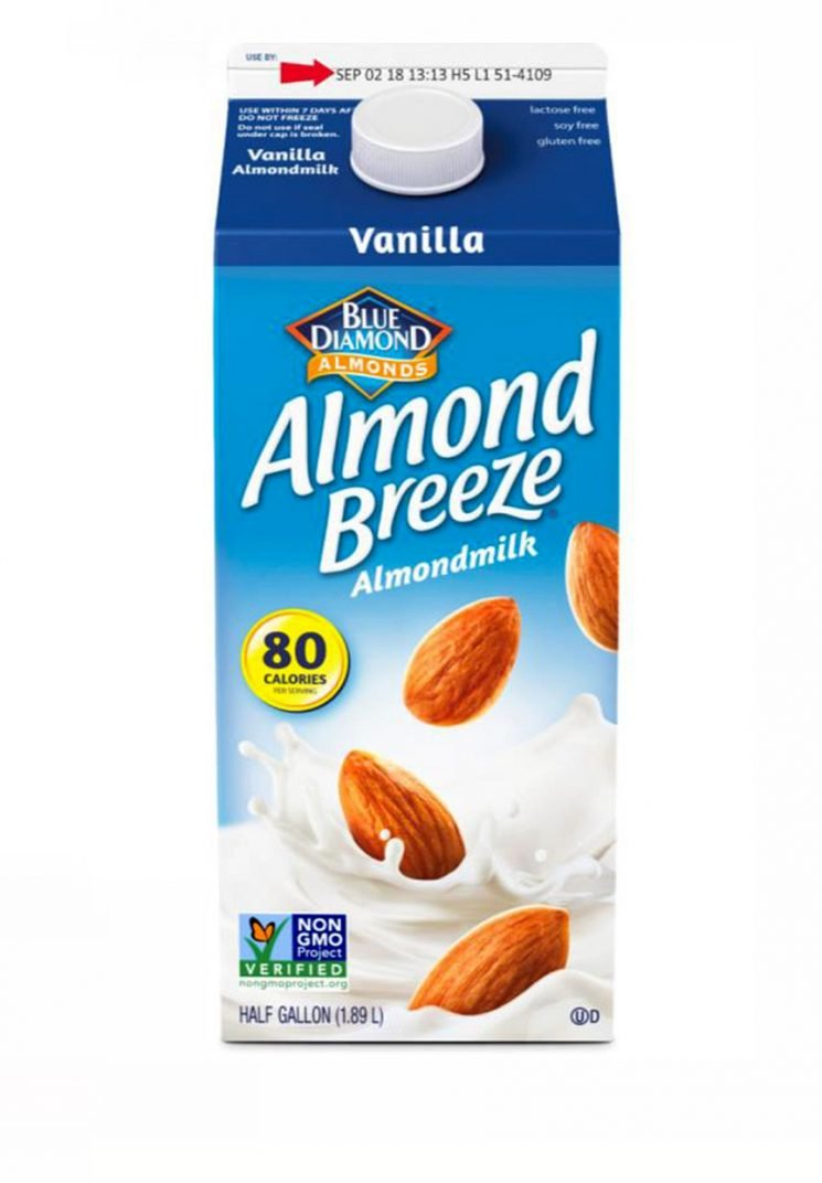 140,000 Cartons of Blue Diamond Almond Milk Recalled for Containing Actual Milk