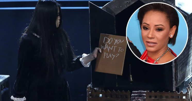 'America's Got Talent' 5th Judge: Spookiest Contestant Ever Scares Mel B Right Out of the Theater