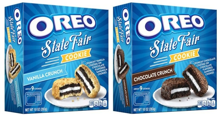 Oreo's State Fair Cookies Are Out Now, So Make Some Room in Your Freezer (and Stomach)