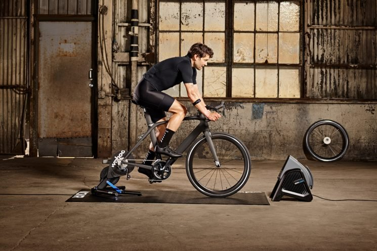 Get Your Gamer Off the Couch and On the Road to Fitness with This Smart Indoor Bike Trainer