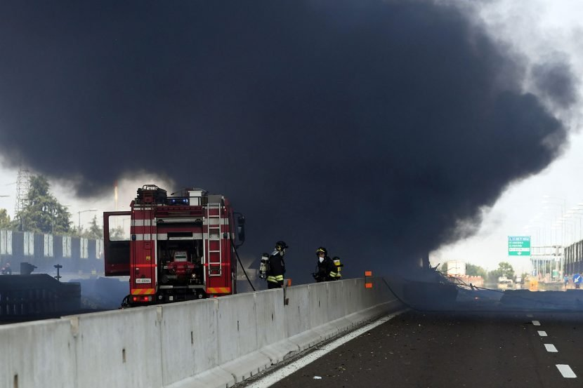 Truck Explodes Near Bologna Airport in Italy, Killing at Least 2 and Injuring 70