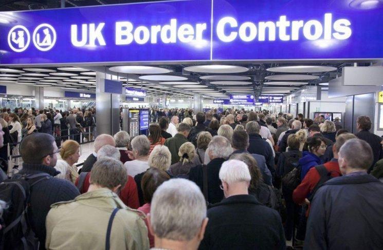 BA boss slams 'farce' of passengers regularly waiting 2 HOURS in UK passport queues