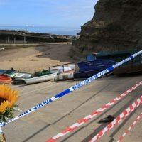 Staithes rock fall victim, 9, killed by single stone in 'freak accident'