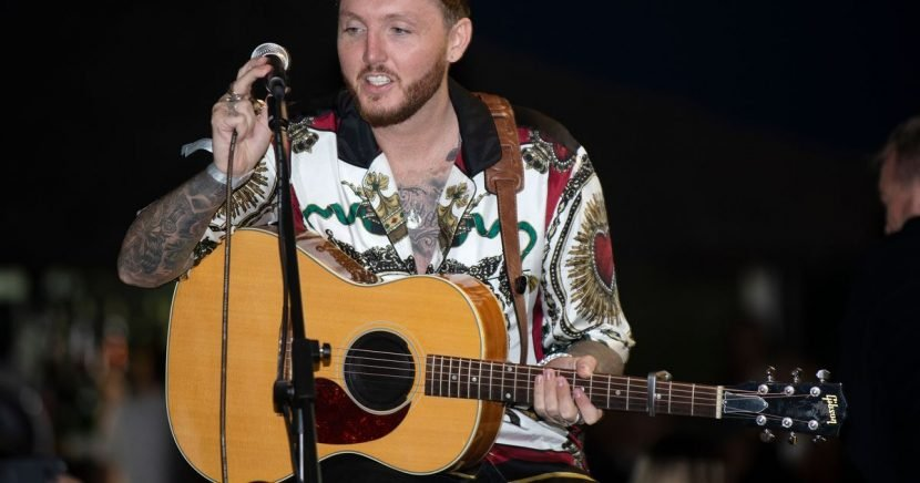 James Arthur thought he was going to 'die' after anxiety attack live on stage