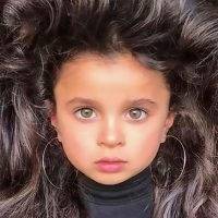 Girl, 5, impresses her 48,000 Instagram admirers with her 'beautiful long hair'