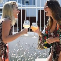 Billie Faiers' sun-soaked hen do given an 'arctic frost' by Ferne McCann