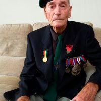 WW2 veteran's trip to Normandy cut short after burglar ransacked his home