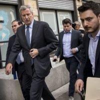 NYC Mayor Bill de Blasio Criticizes Fox News and Murdoch