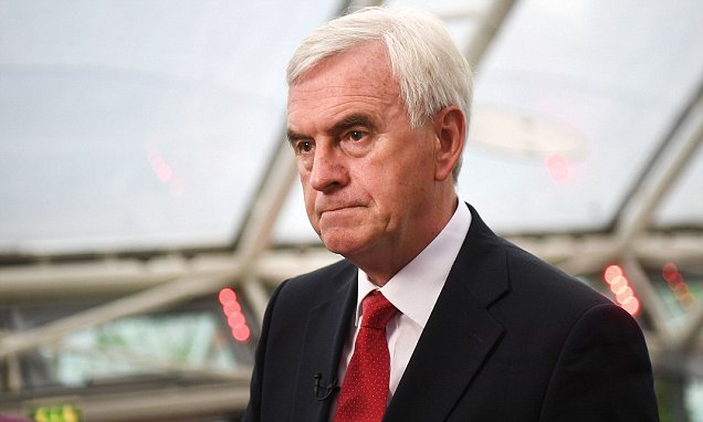 McDonnell fuels rumours of Labour shift on second Brexit referendum