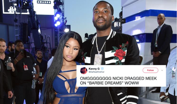 "Nicki Minaj's ""Barbie Dreams"" Lyrics Shade Meek Mill In The Most Epic Way, So Twitter's Lit"