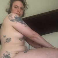 Lena Dunham Commemorates the 9-Month Anniversary of Her Hysterectomy with Nude Selfies