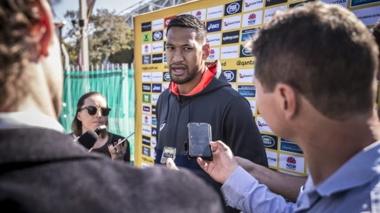 Folau says World Cup 'enticing' but won't reveal plans for next year