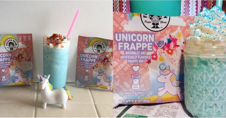 Walmart Now Offers Unicorn Frappe Mix, So You Can Blend Magical Drinks at Home