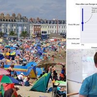 Britain will be hit with a blistering heatwave EVERY year