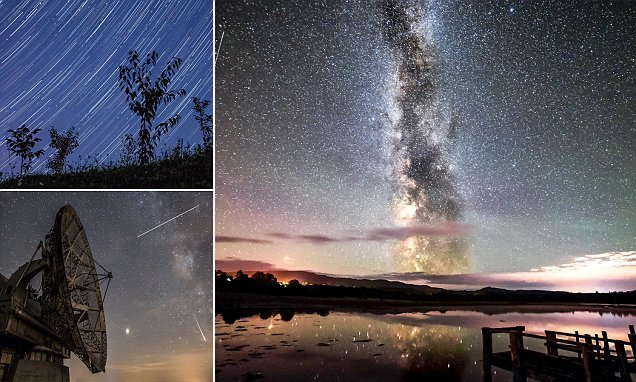 'Brightest Ever' Perseids Meteor Shower revealed