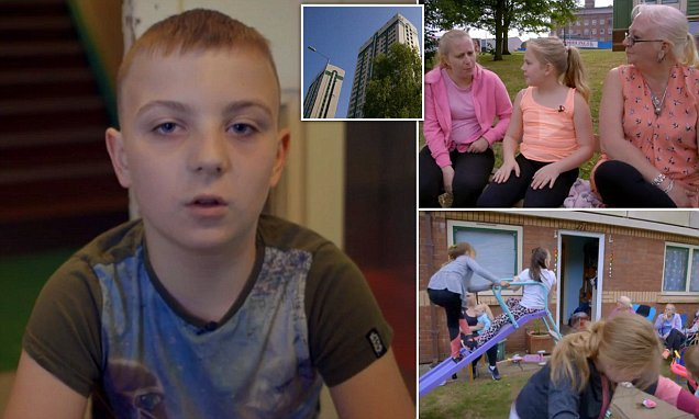 Family with 22 members all live on the SAME high rise council estate