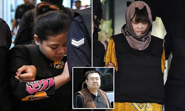 Women accused of assassinating Kim Jong-Un's brother could face death