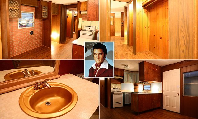 Mobile home owned by Elvis is up for auction