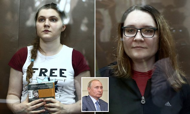 Russian teenager accused of 'extremism' is placed under house arrest