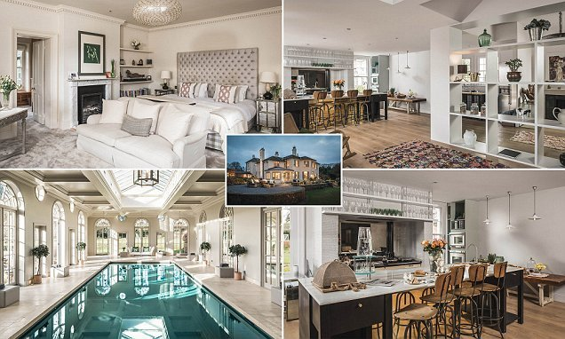 Stunning £20,000-a-week mansion is set in 40 acres of land