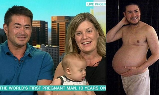 World's first pregnant man says he 'wouldn't rule' out carrying again