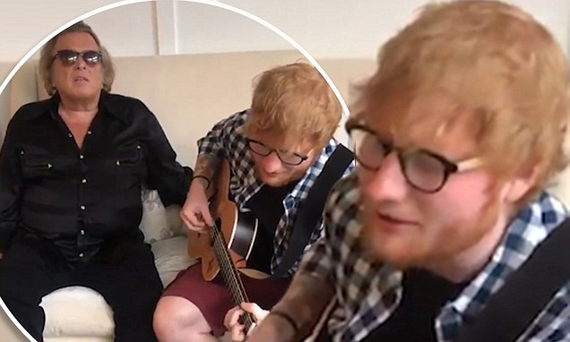 Ed Sheeran and Don McLean send fans wild with sensational vocals