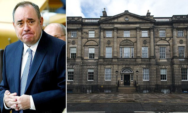 Alex Salmond denies claims he sexually assaulted two staff members
