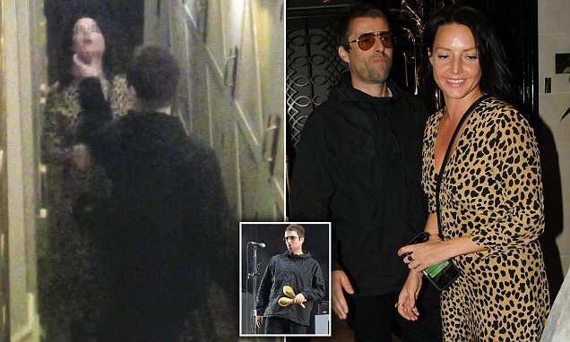 Liam Gallagher 'grabs his girlfriend Debbie Gwyther by the throat'