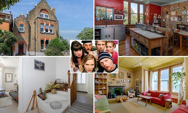 Eight-bedroom home that featured in Simon Pegg's TV show goes on sale