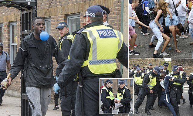 More than 125 people arrested at Notting Hill Carnival on Monday