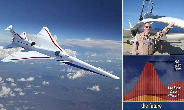 Nasa's supersonic plane will ditch the windscreen