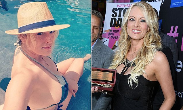 Stormy Daniels, 39, shows off natural features in bare-faced selfie