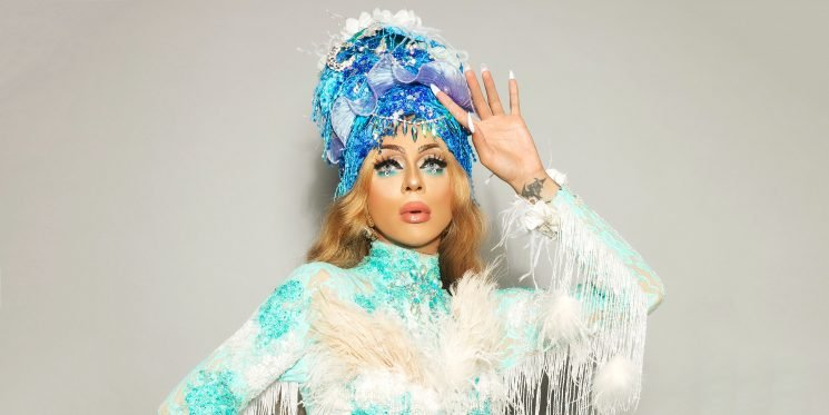 Prepare to Be Spellbound by Aja the Kween's Turquoise Transformation