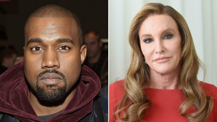 This Photo Of Kanye West's Texts With Caitlyn Jenner Proves He's Friendly With Her