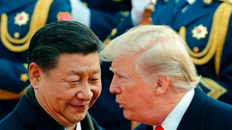 Trump increasingly takes aim at a new foe – China